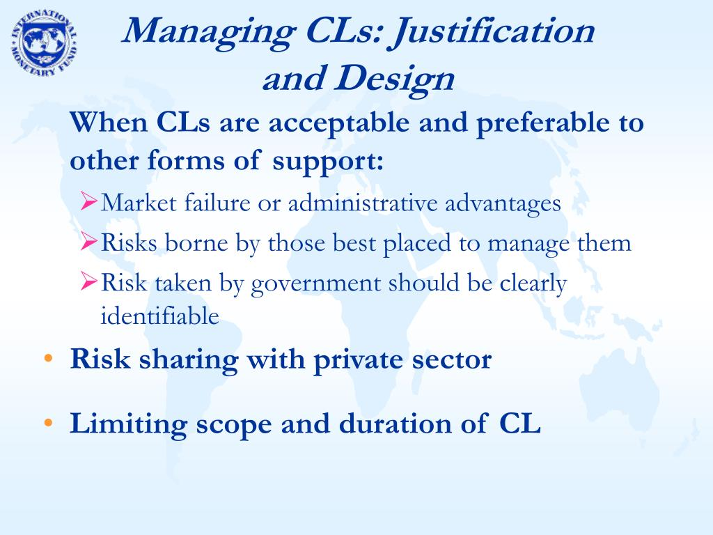 Managing CLs: Justification and Design