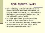 civil rights cont d21