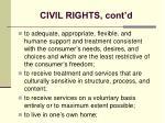 civil rights cont d22