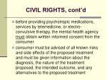 civil rights cont d24