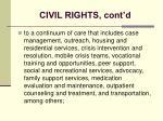 civil rights cont d26