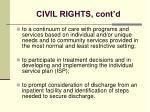 civil rights cont d27