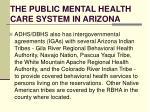 the public mental health care system in arizona4