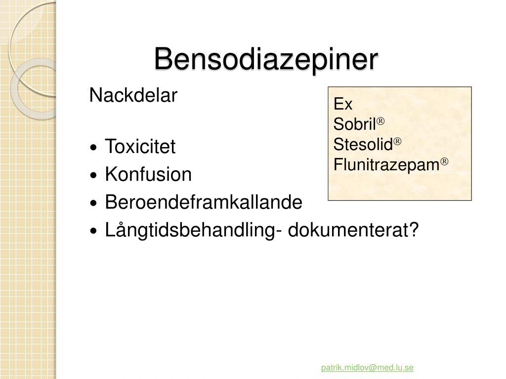 Bensodiazepiner