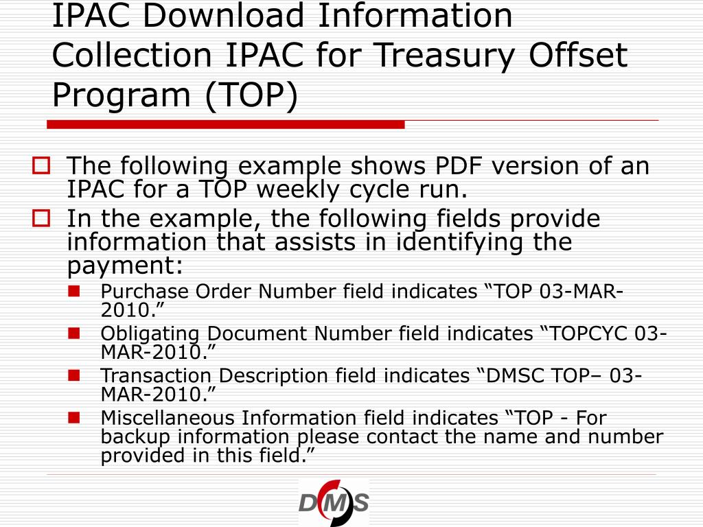 IPAC Download Information