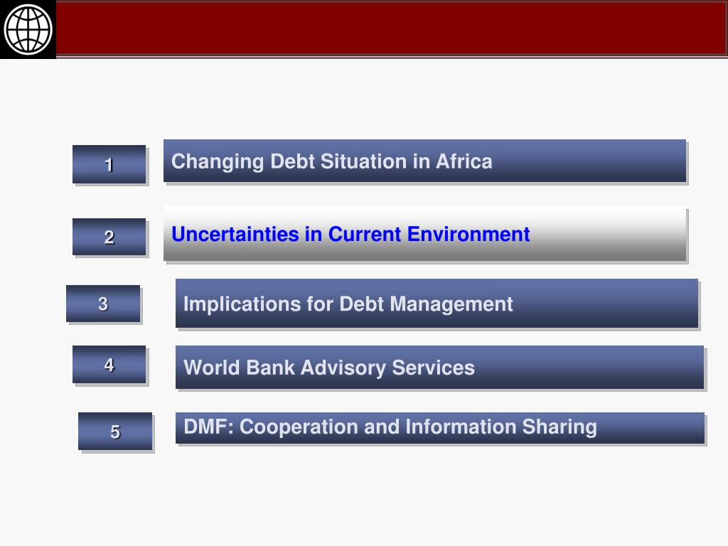 Changing Debt Situation in Africa