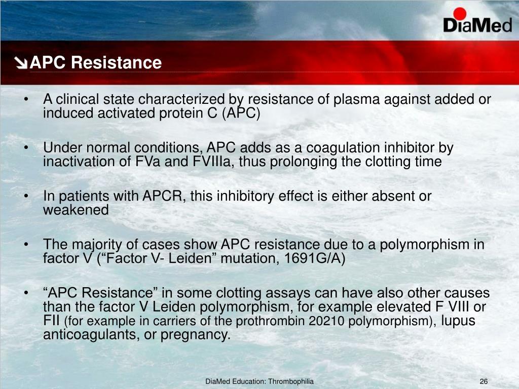 Apc Resistenssi