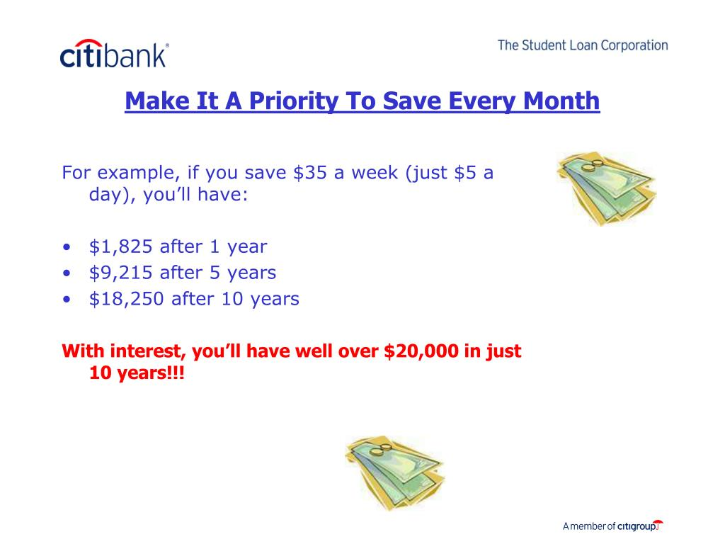 Make It A Priority To Save Every Month