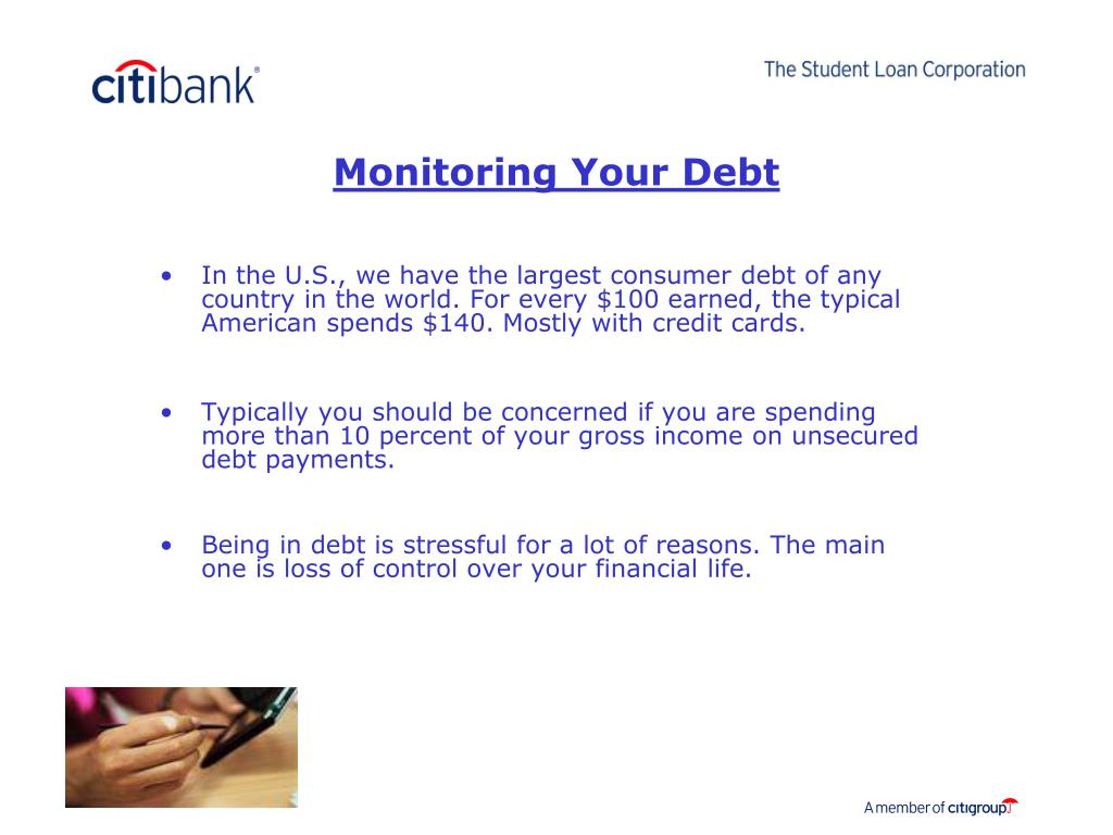 Monitoring Your Debt