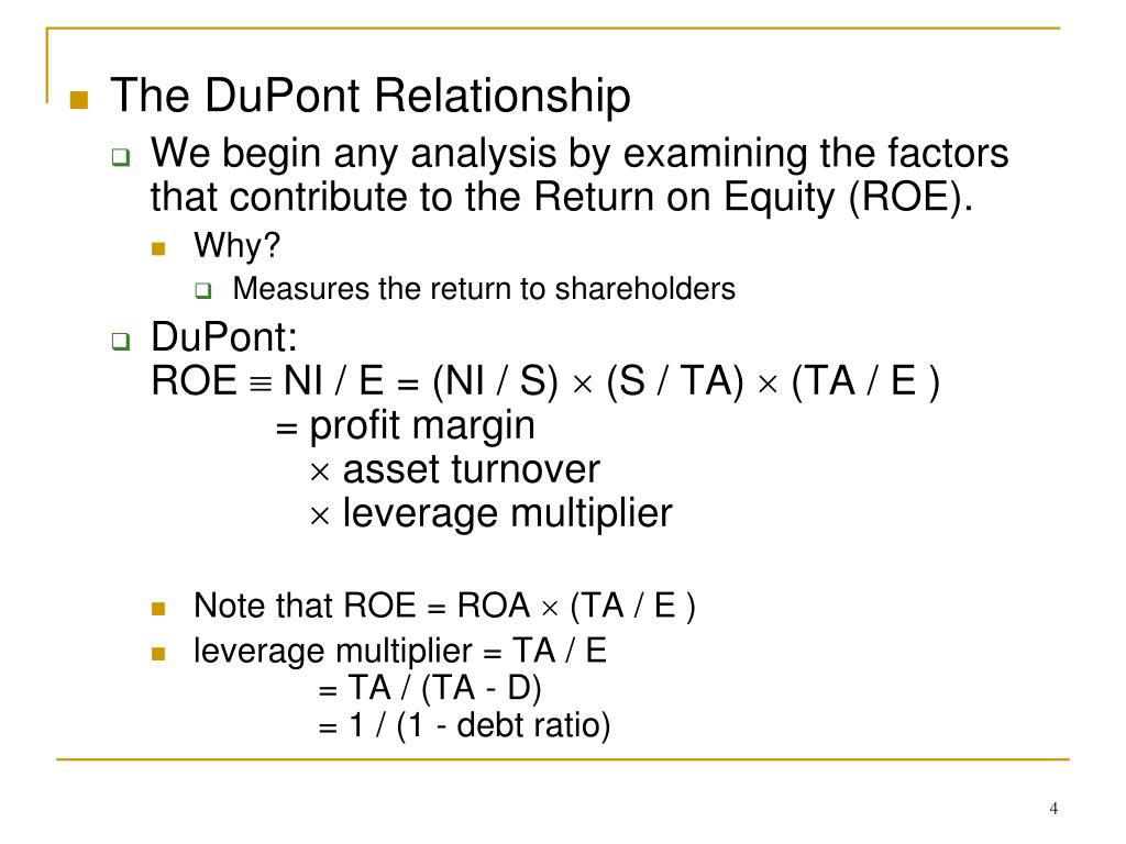 The DuPont Relationship