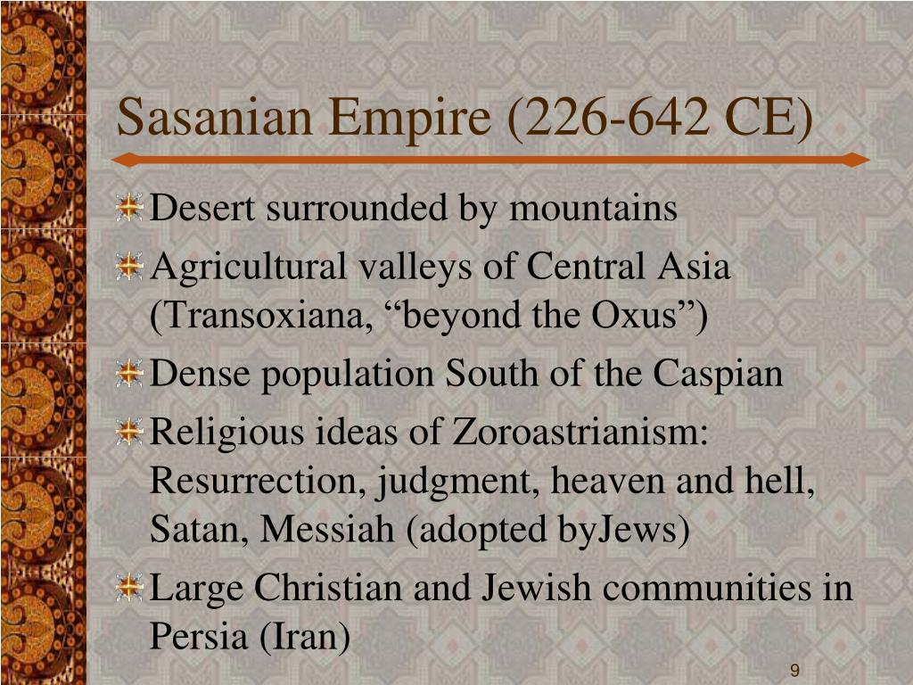 Sasanian Empire (226-642 CE)