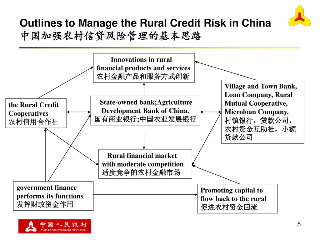 Innovations in rural  financial products and services