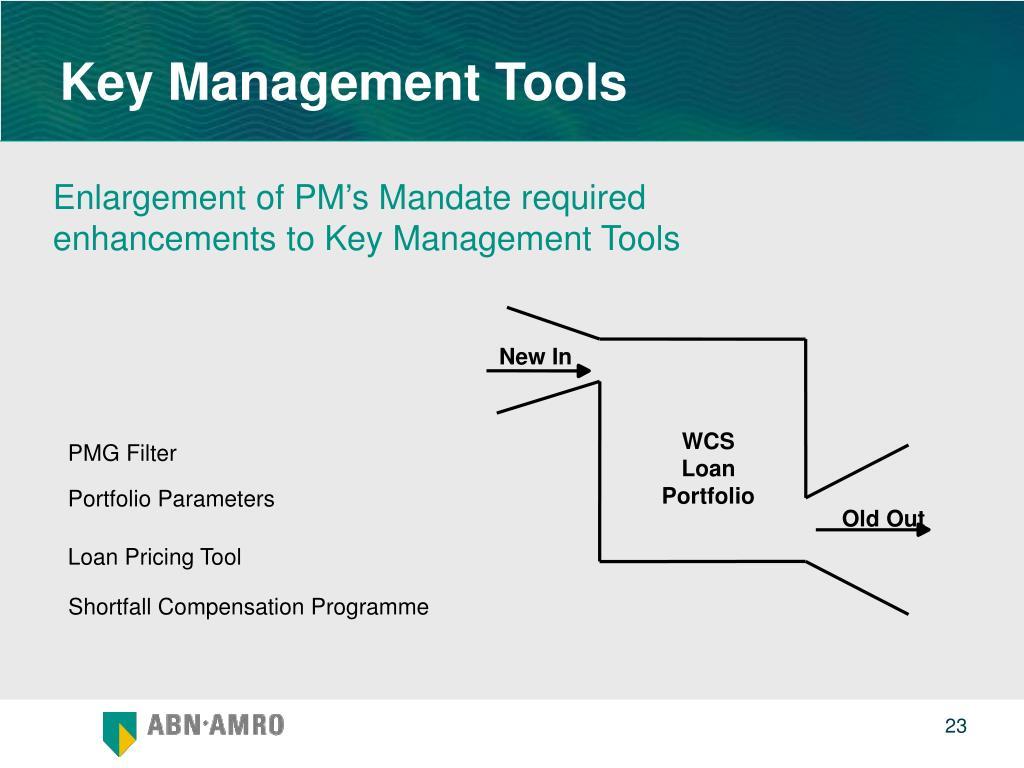 Key Management Tools