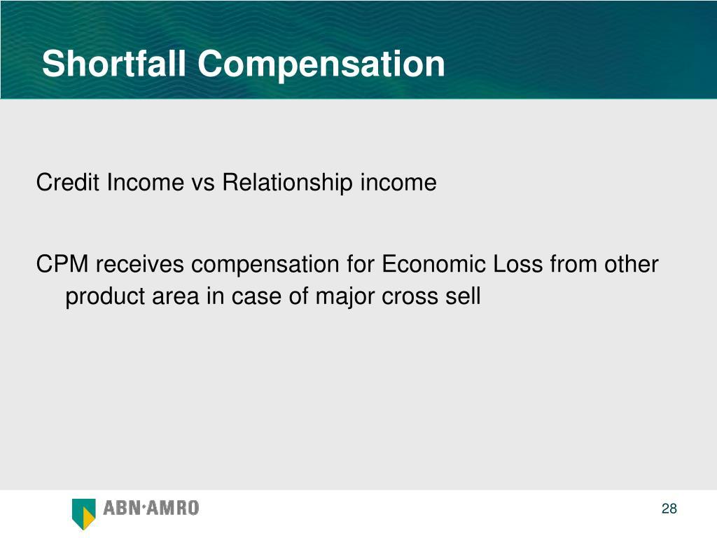 Shortfall Compensation