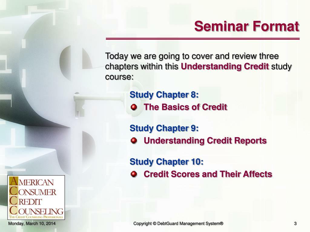 Seminar Format