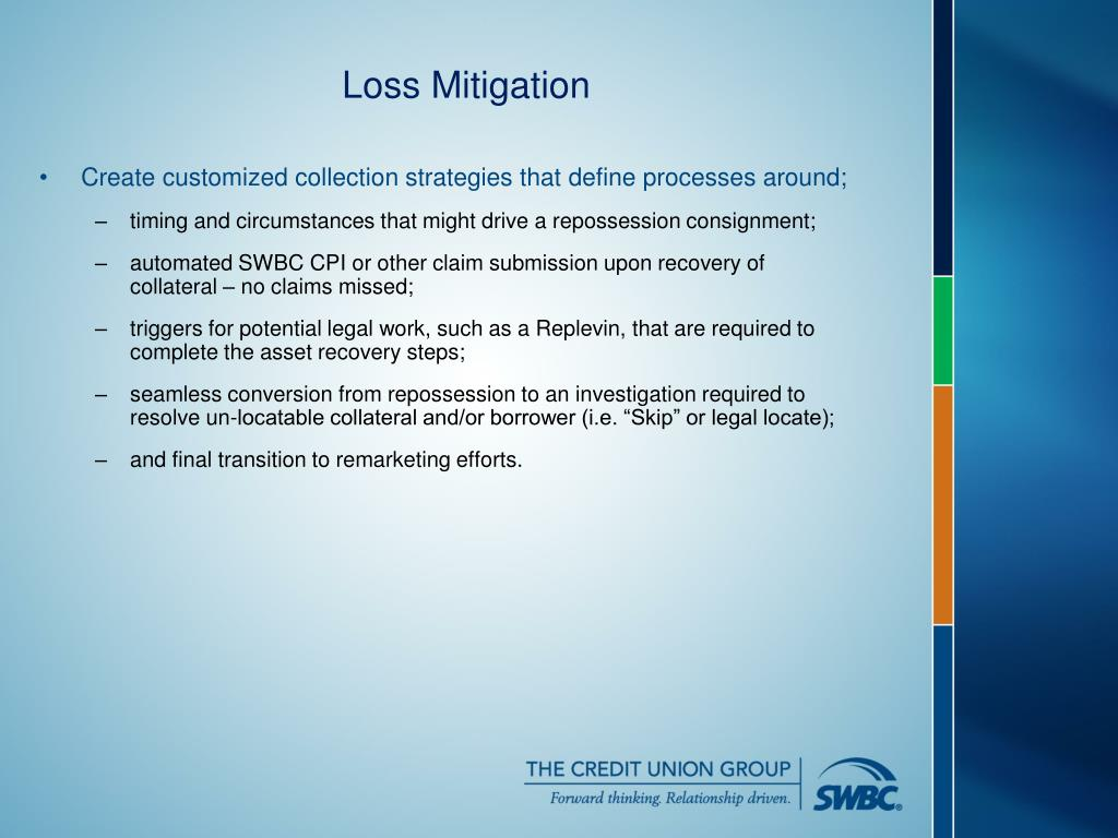 Create customized collection strategies that define processes around;