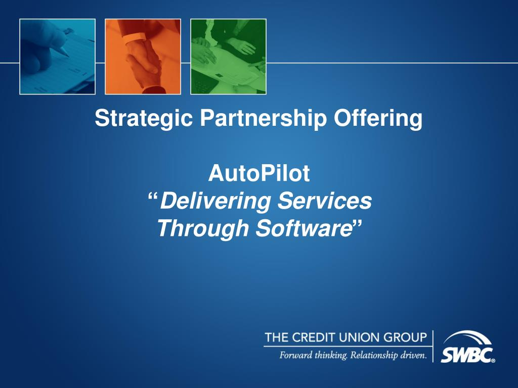 Strategic Partnership Offering
