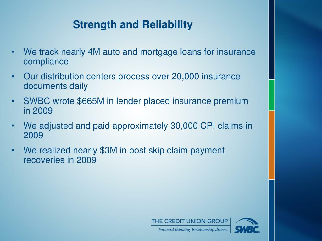 We track nearly 4M auto and mortgage loans for insurance compliance