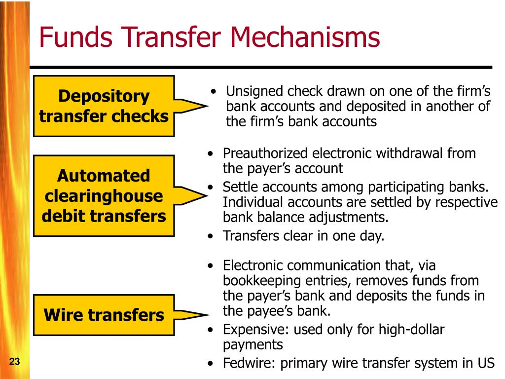 Depository transfer checks