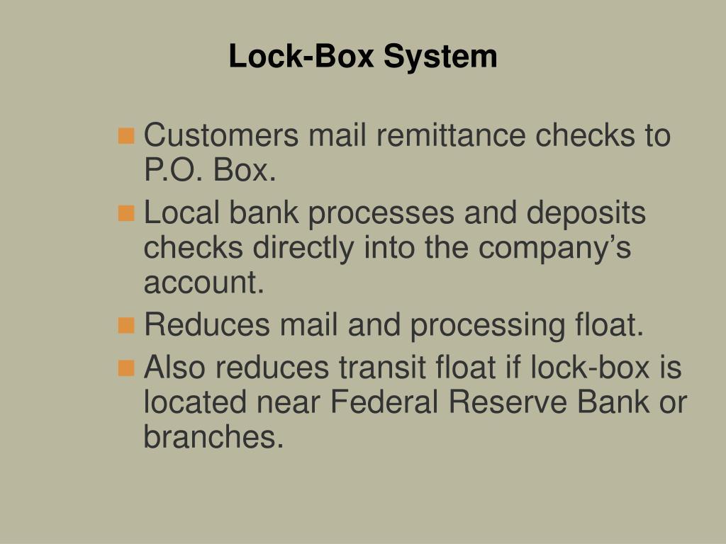 Lock-Box System