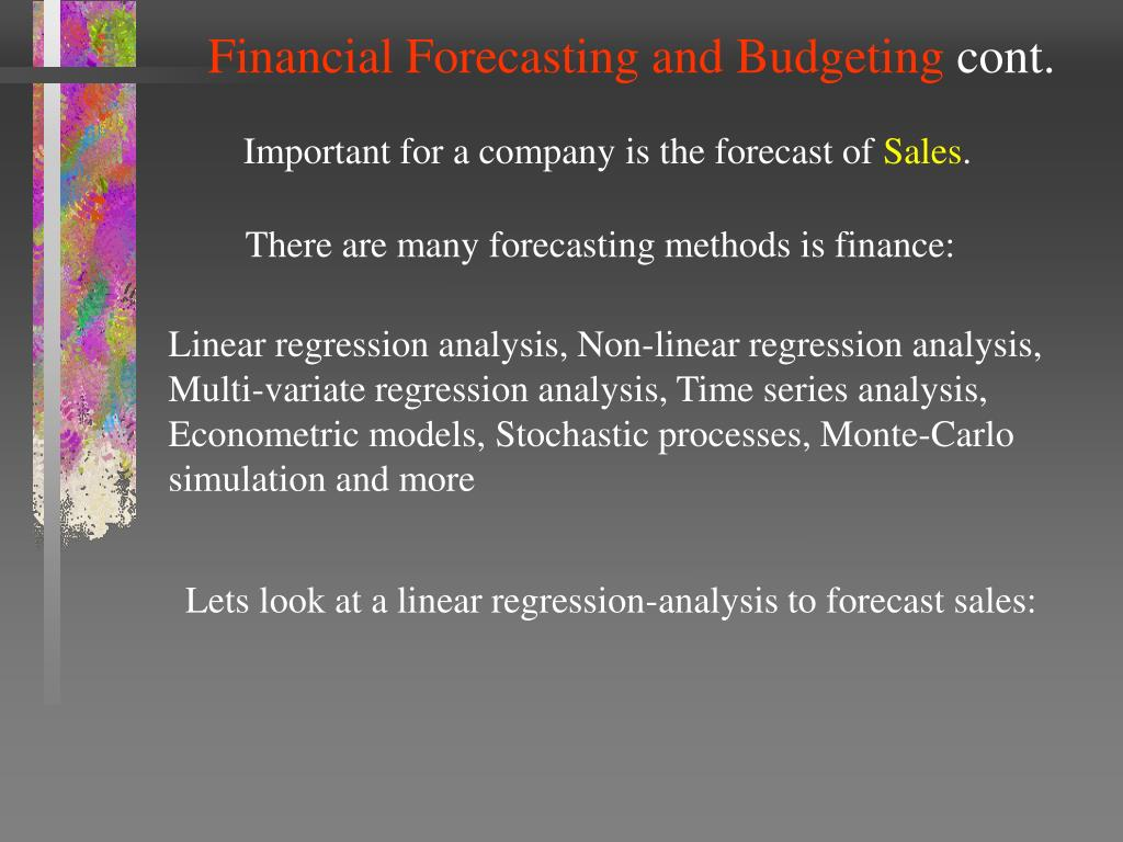 Financial Forecasting and Budgeting