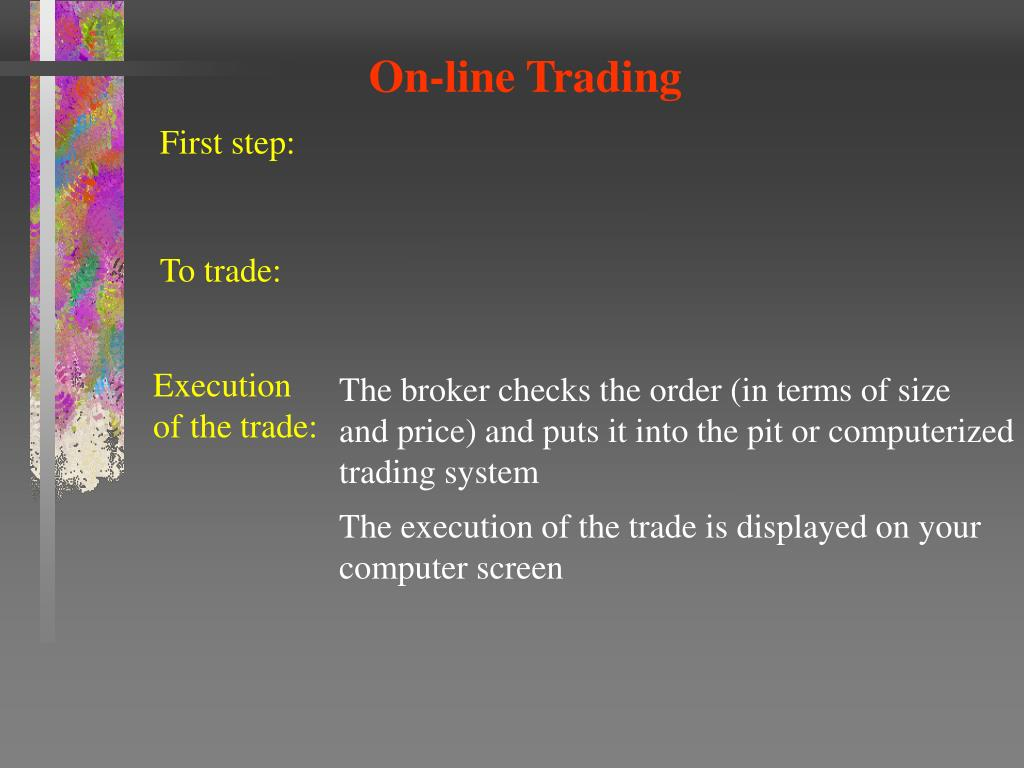 On-line Trading