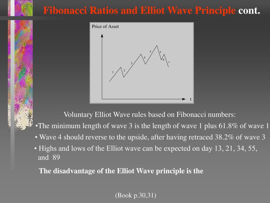 Fibonacci Ratios and Elliot Wave Principle