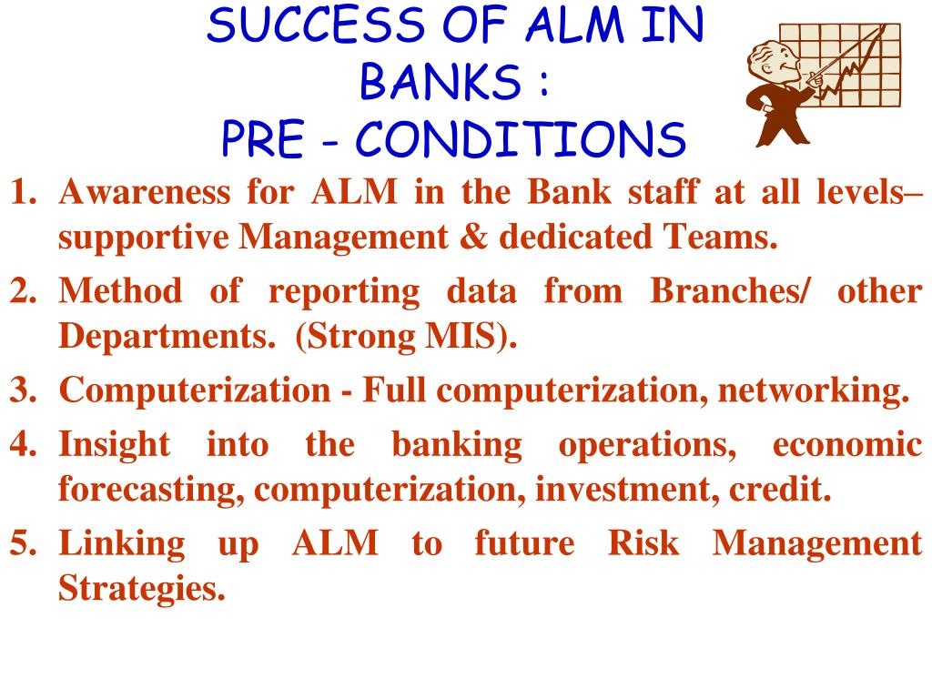 SUCCESS OF ALM IN BANKS :