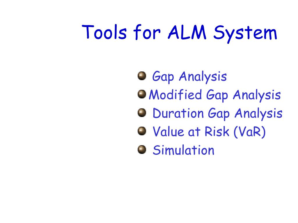 Tools for ALM System