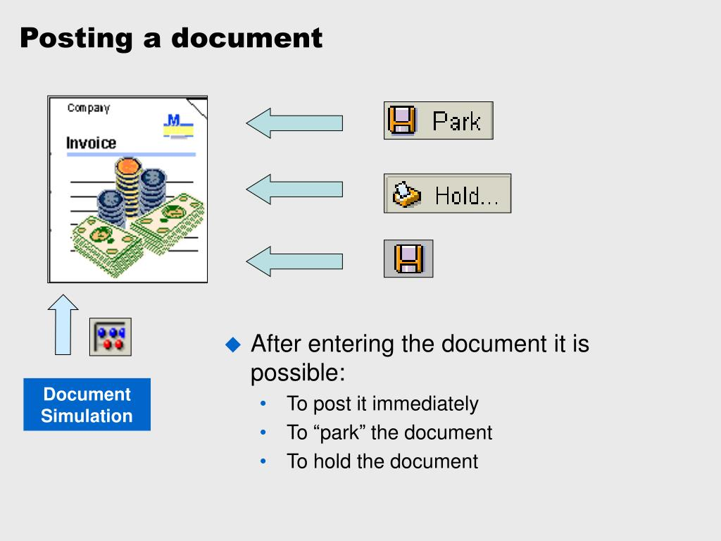 Posting a document