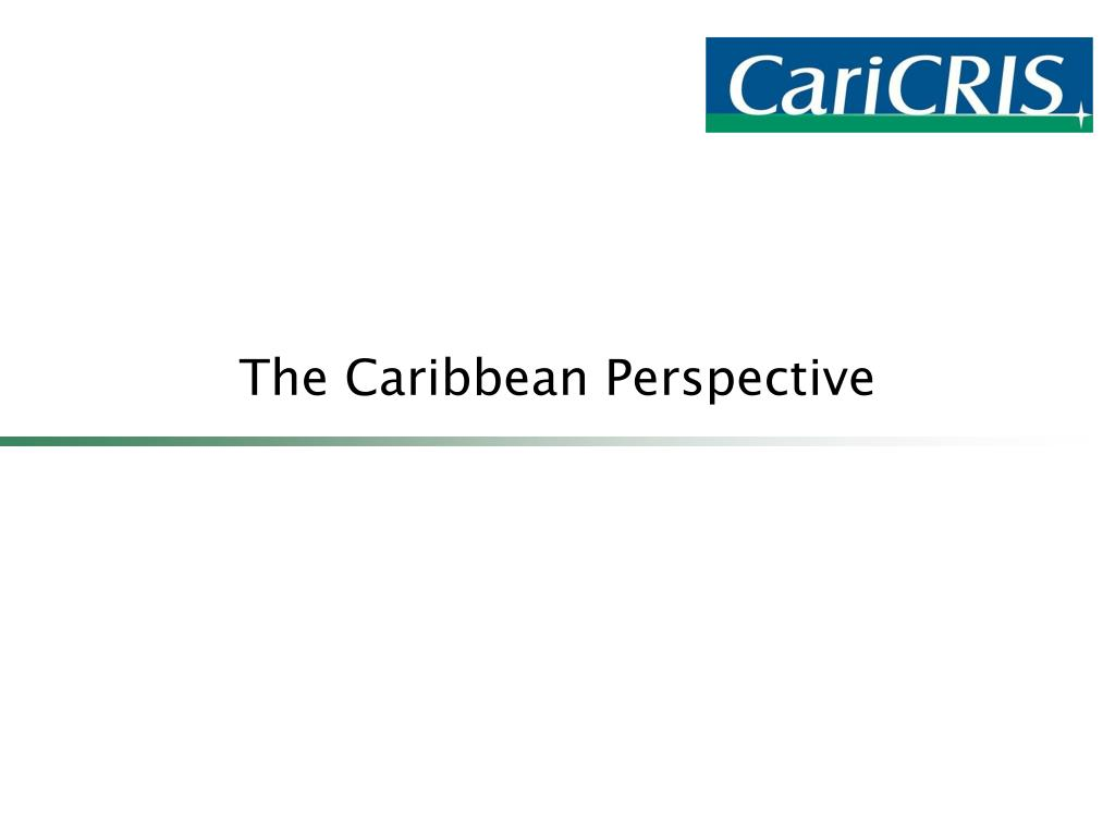The Caribbean Perspective