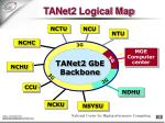 tanet2 logical map