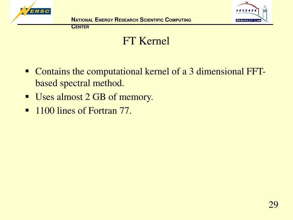 FT Kernel