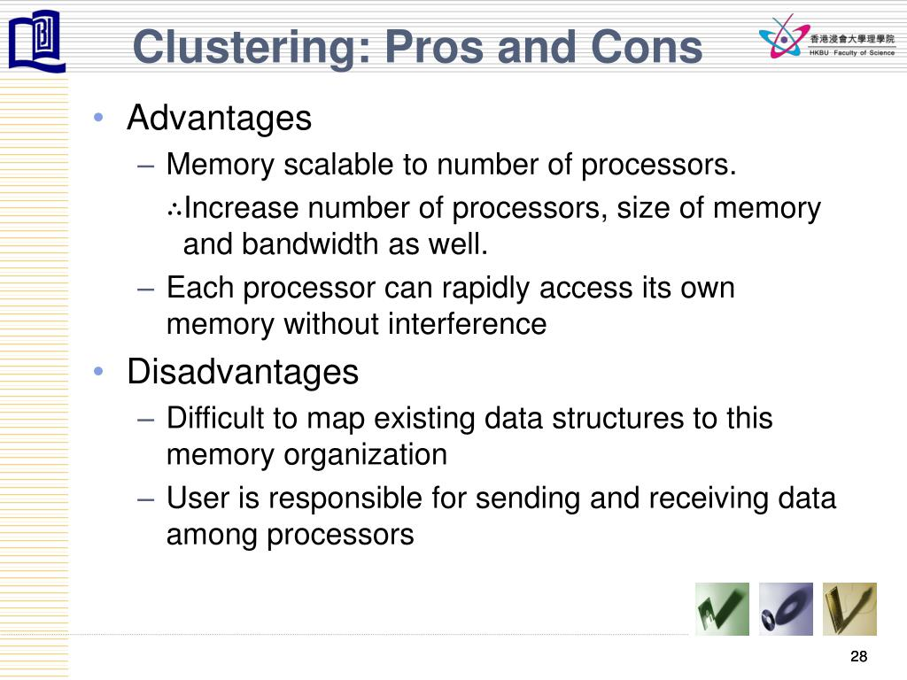 Clustering: Pros and Cons