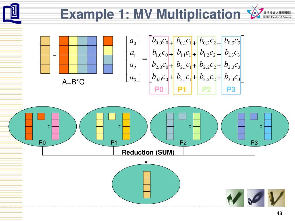 Example 1: MV Multiplication