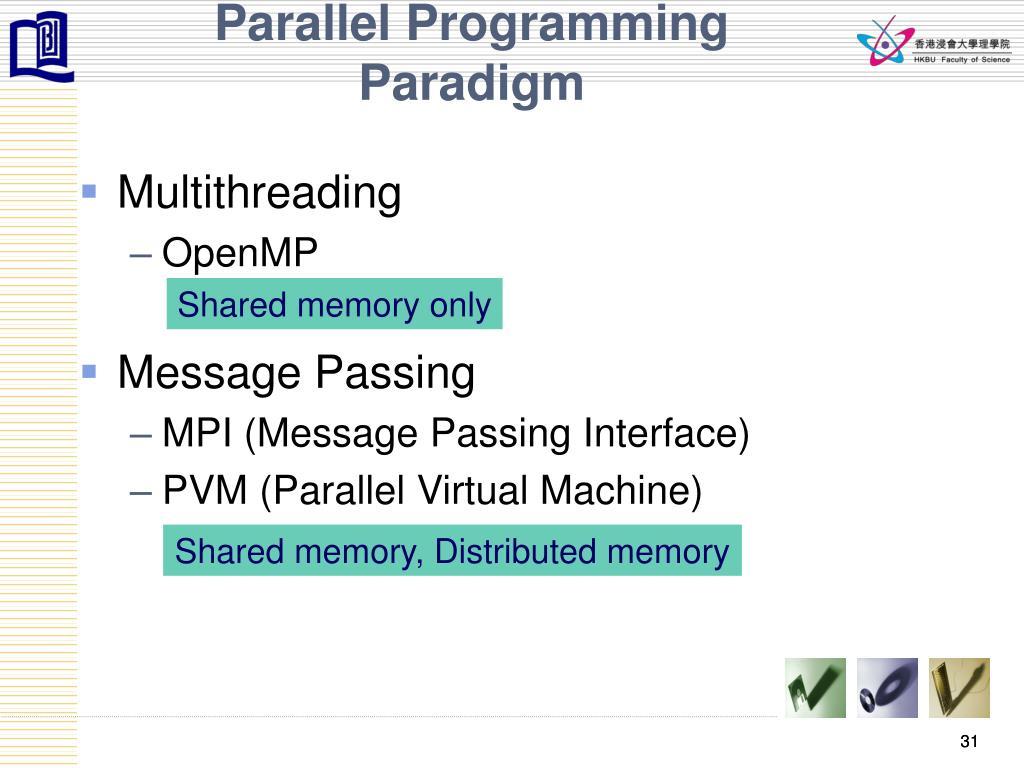 Parallel Programming Paradigm