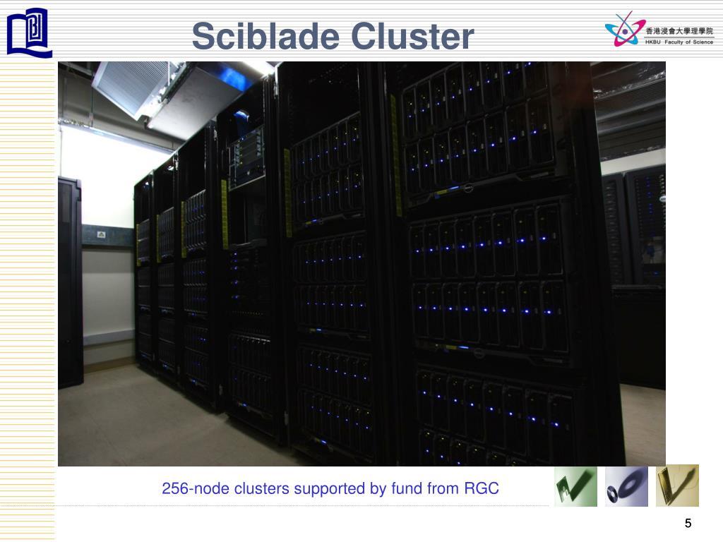 Sciblade Cluster