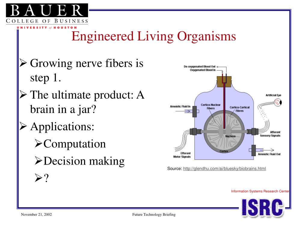 Engineered Living Organisms