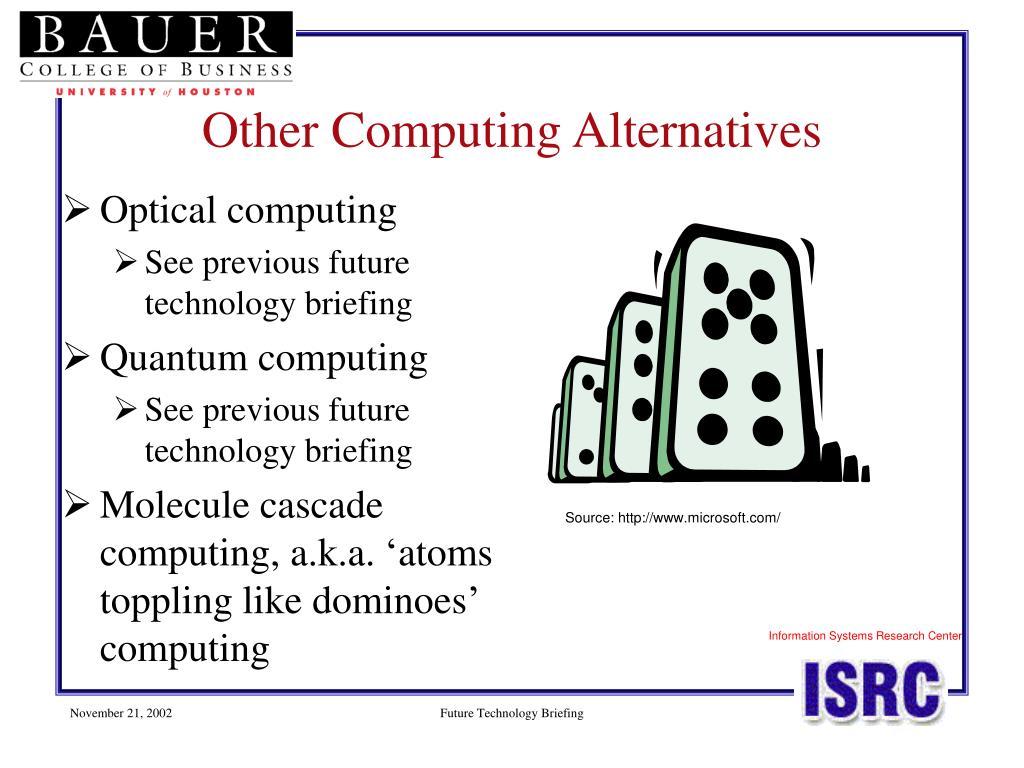 Other Computing Alternatives