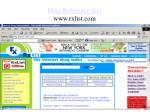 drug reference site www rxlist com