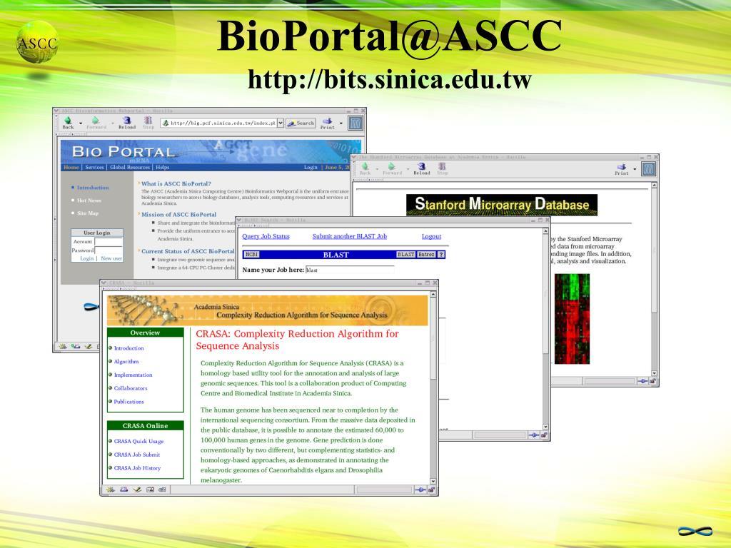 BioPortal@ASCC