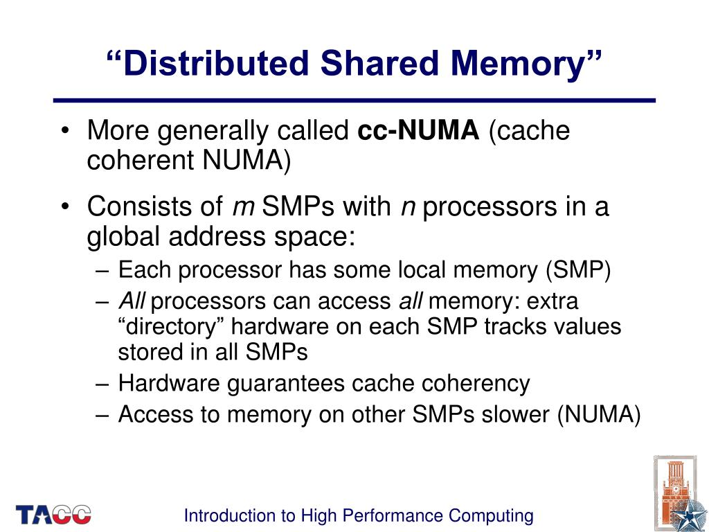 """Distributed Shared Memory"""