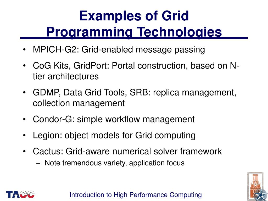 Examples of Grid
