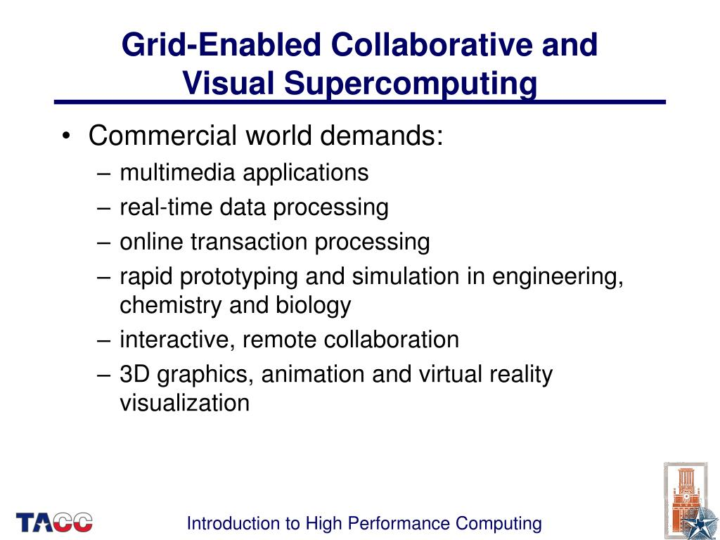 Grid-Enabled Collaborative and