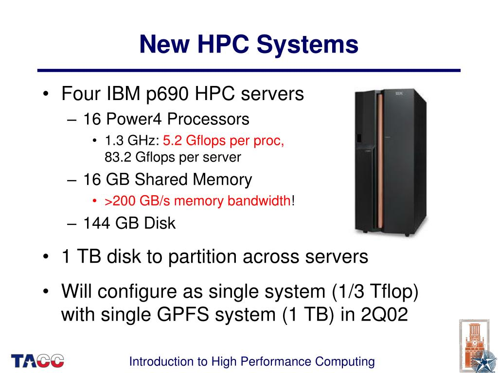 New HPC Systems