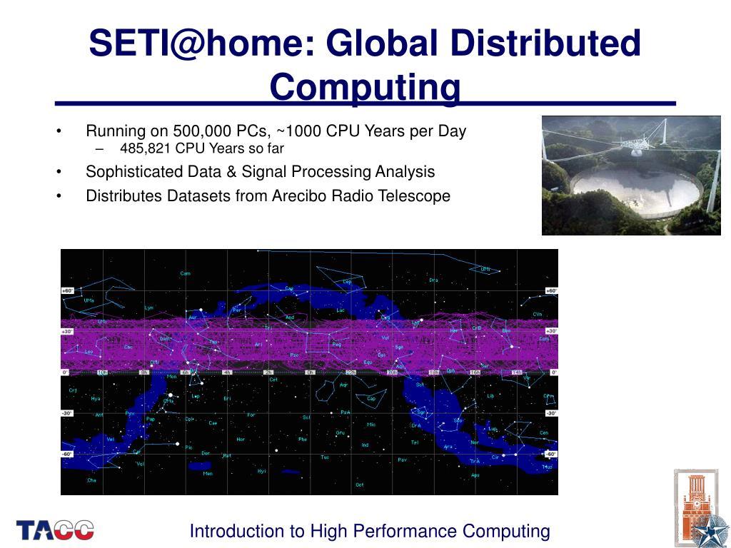 SETI@home: Global Distributed Computing