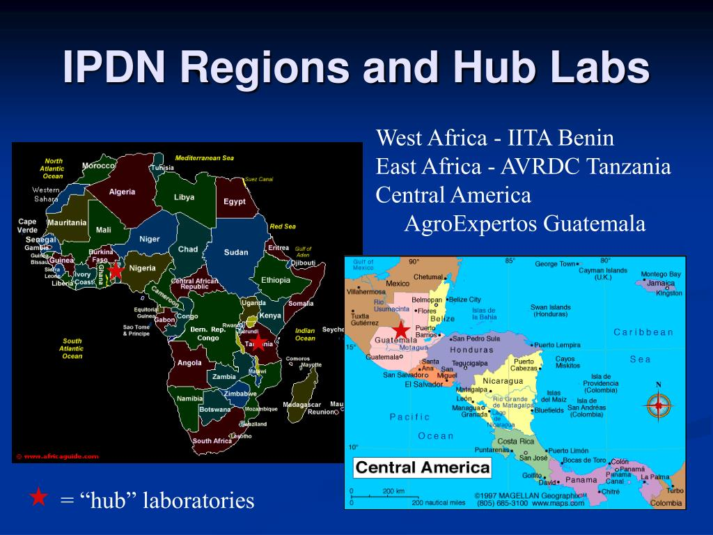 IPDN Regions and Hub Labs