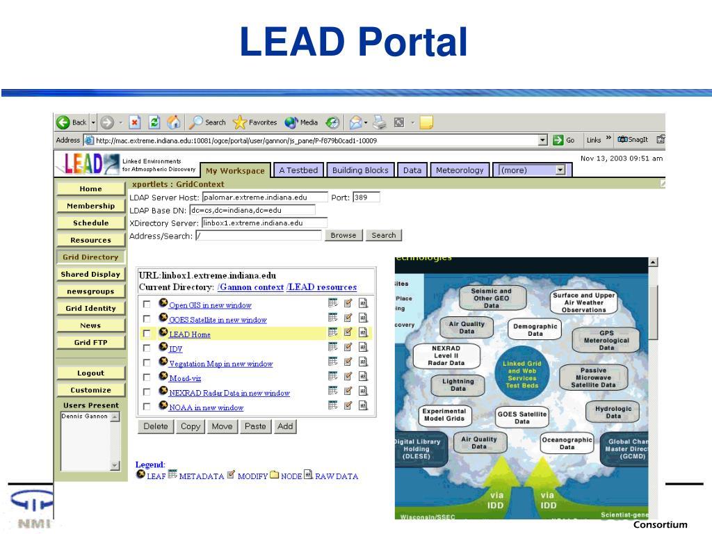 LEAD Portal