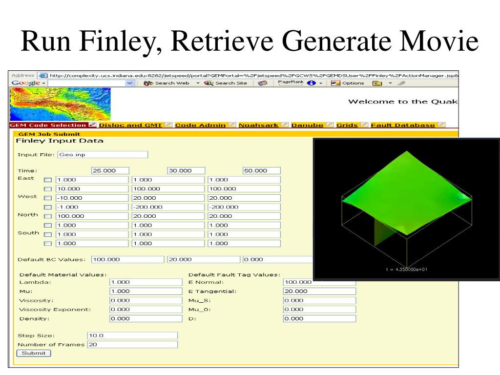Run Finley, Retrieve Generate Movie