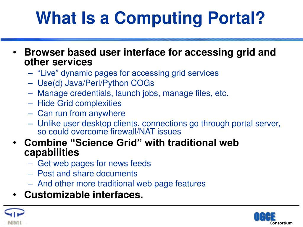 What Is a Computing Portal?